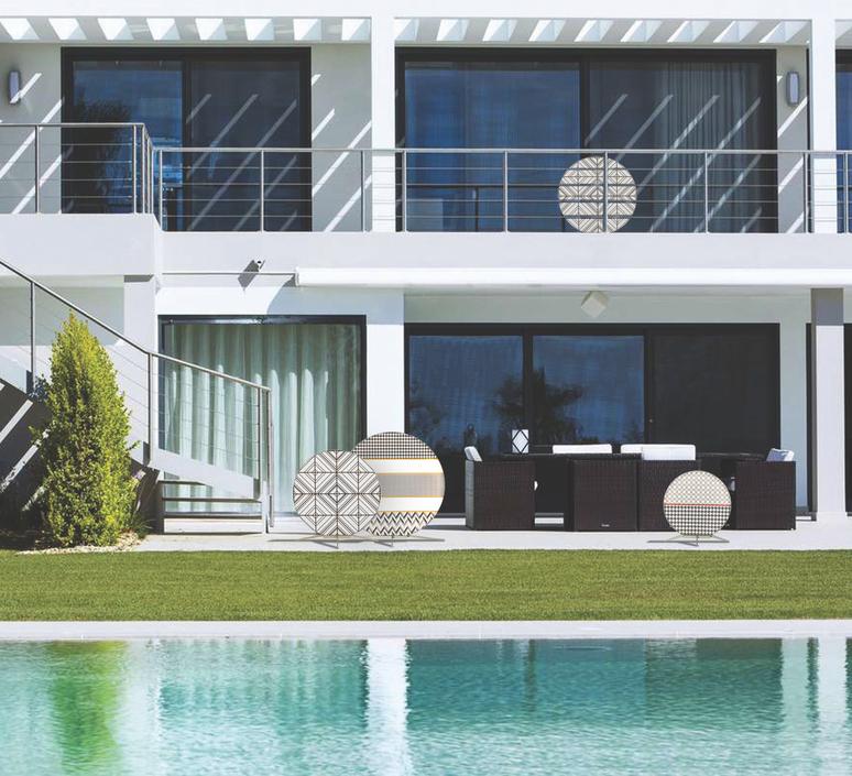 Babu textile l massimiliano raggi lampadaire d exterieur outdoor floor light  contardi acam 002617   design signed nedgis 87657 product
