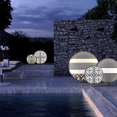 Babu textile l massimiliano raggi lampadaire d exterieur outdoor floor light  contardi acam 002617   design signed nedgis 87659 thumb