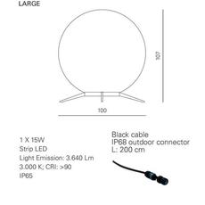 Babu textile l massimiliano raggi lampadaire d exterieur outdoor floor light  contardi acam 002617   design signed nedgis 87661 thumb