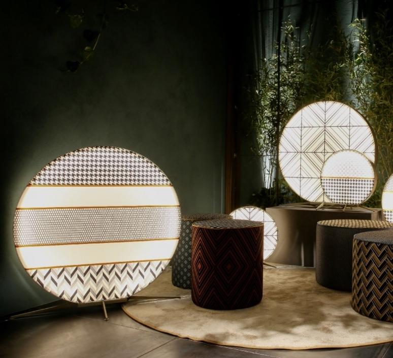 Babu textile l massimiliano raggi lampadaire d exterieur outdoor floor light  contardi acam 002619   design signed nedgis 87665 product