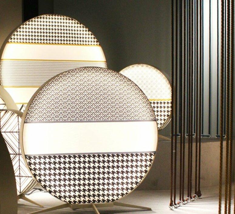 Babu textile m massimiliano raggi lampadaire d exterieur outdoor floor light  contardi acam 002615   design signed nedgis 87650 product