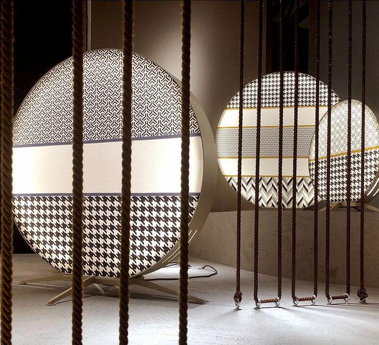 Babu textile m massimiliano raggi lampadaire d exterieur outdoor floor light  contardi acam 002615   design signed nedgis 87651 product