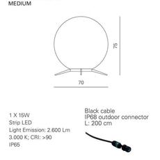 Babu textile m massimiliano raggi lampadaire d exterieur outdoor floor light  contardi acam 002615   design signed nedgis 87653 thumb