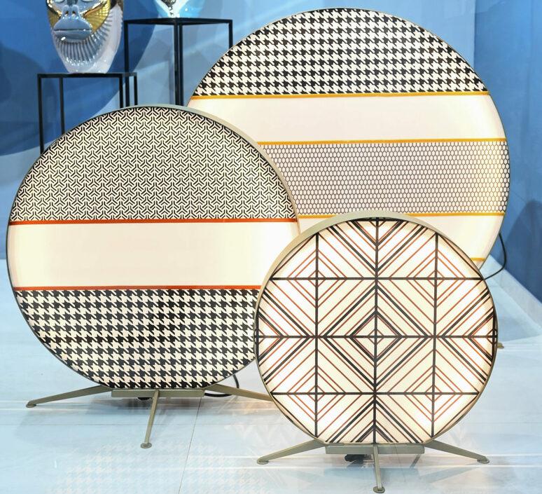 Babu textile m massimiliano raggi lampadaire d exterieur outdoor floor light  contardi acam 002613   design signed nedgis 87643 product