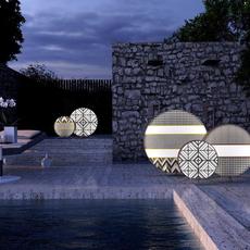 Babu textile m massimiliano raggi lampadaire d exterieur outdoor floor light  contardi acam 002613   design signed nedgis 87644 thumb