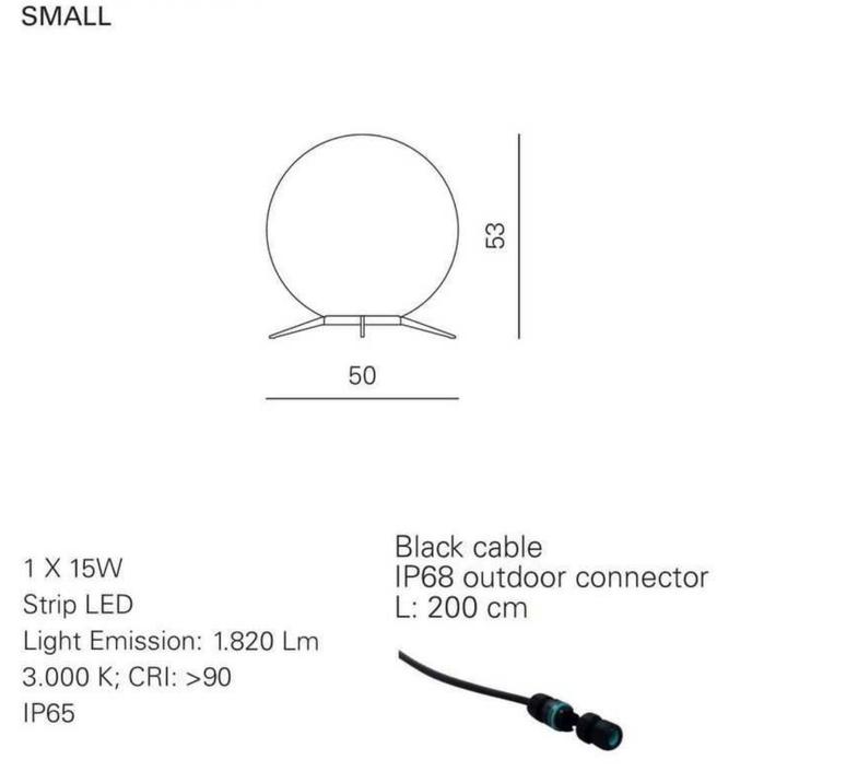 Babu textile s massimiliano raggi lampadaire d exterieur outdoor floor light  contardi acam 002609   design signed nedgis 87633 product