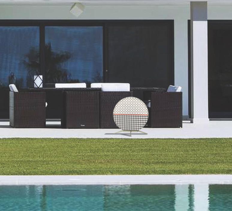 Babu textile s massimiliano raggi lampadaire d exterieur outdoor floor light  contardi acam 002607   design signed nedgis 87624 product