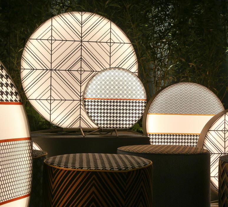 Babu textile s massimiliano raggi lampadaire d exterieur outdoor floor light  contardi acam 002607   design signed nedgis 87625 product