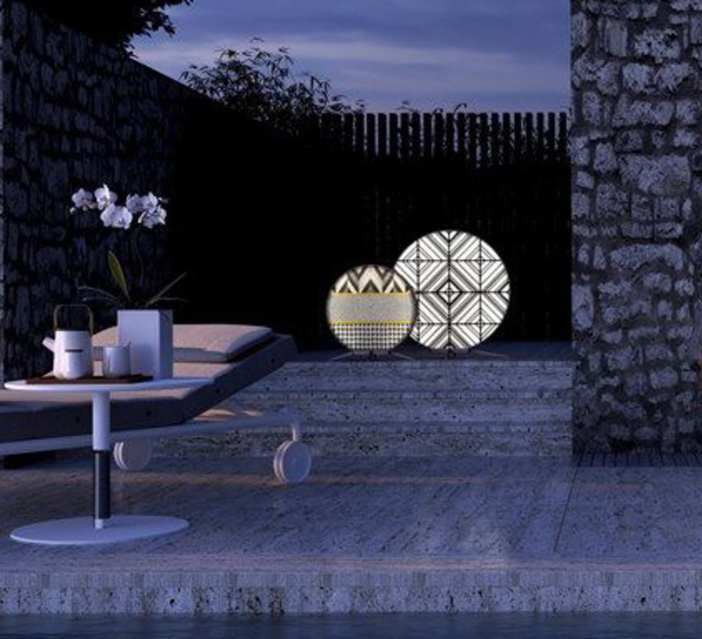 Babu tribal l massimiliano raggi lampadaire d exterieur outdoor floor light  contardi acam 002635   design signed nedgis 87688 product