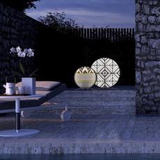 Babu tribal l massimiliano raggi lampadaire d exterieur outdoor floor light  contardi acam 002635   design signed nedgis 87688 thumb