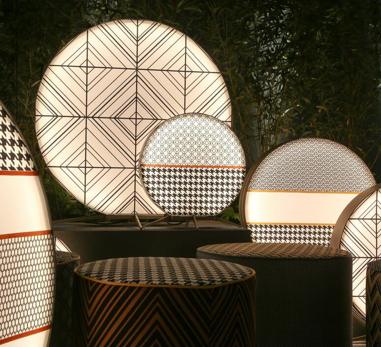 Babu tribal l massimiliano raggi lampadaire d exterieur outdoor floor light  contardi acam 002635   design signed nedgis 87690 product