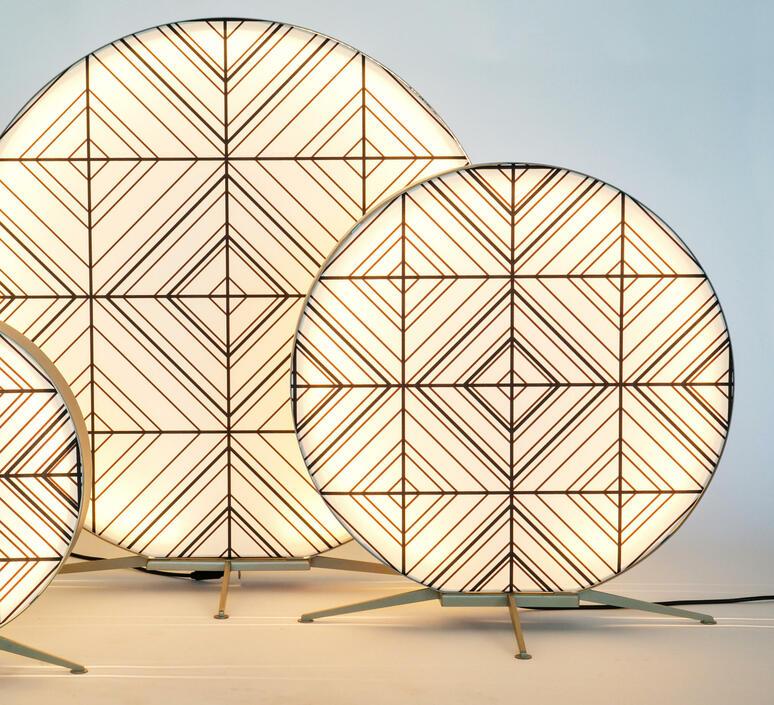 Babu tribal m massimiliano raggi lampadaire d exterieur outdoor floor light  contardi acam 002629   design signed nedgis 87683 product