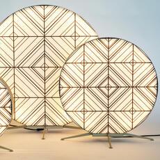 Babu tribal m massimiliano raggi lampadaire d exterieur outdoor floor light  contardi acam 002629   design signed nedgis 87683 thumb
