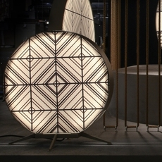 Babu tribal s massimiliano raggi lampadaire d exterieur outdoor floor light  contardi acam 002623   design signed nedgis 87672 thumb