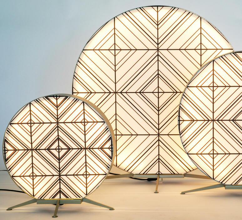 Babu tribal s massimiliano raggi lampadaire d exterieur outdoor floor light  contardi acam 002623   design signed nedgis 87675 product