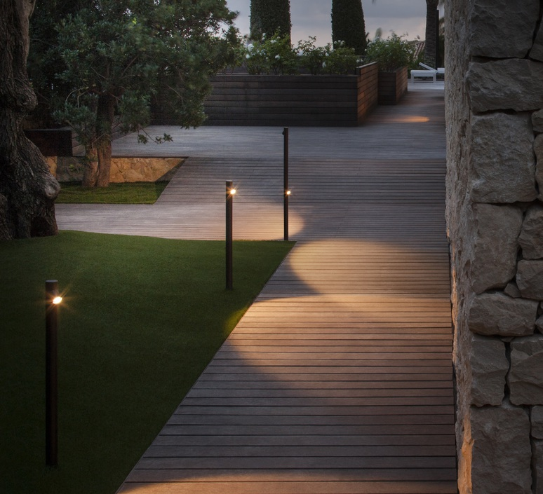 Bamboo 4802 antoni arola lampadaire d exterieur outdoor floor light  vibia 480254 1  design signed nedgis 81065 product