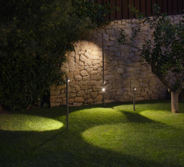 Bamboo 4803 antoni arola lampadaire d exterieur outdoor floor light  vibia 480354 1  design signed nedgis 81080 product