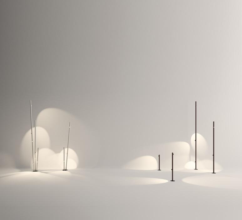 Bamboo 4812 antoni arola lampadaire d exterieur outdoor floor light  vibia 481258 1  design signed nedgis 81120 product