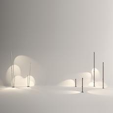 Bamboo 4812 antoni arola lampadaire d exterieur outdoor floor light  vibia 481258 1  design signed nedgis 81120 thumb