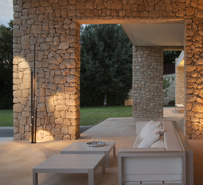Bamboo 4812 antoni arola lampadaire d exterieur outdoor floor light  vibia 481254 1  design signed nedgis 81125 product
