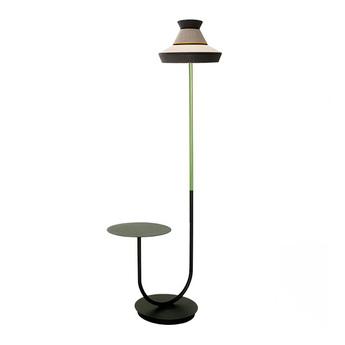 Lampadaire d exterieur calypfl fl outdoor guadaloupe sel et poivre ip65 o40cm h186 5cm contardi normal