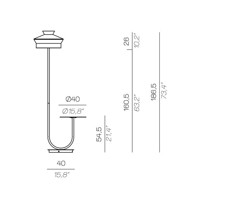Calypfl fl outdoor martinique servomuto lampadaire d exterieur outdoor floor light  contardi acam 002415  design signed nedgis 88143 product