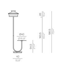 Calypfl fl outdoor martinique servomuto lampadaire d exterieur outdoor floor light  contardi acam 002413  design signed nedgis 88139 thumb