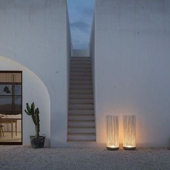 Lampadaire d\'extérieur, Don\'t touch, gris, LED, Ø42cm ...