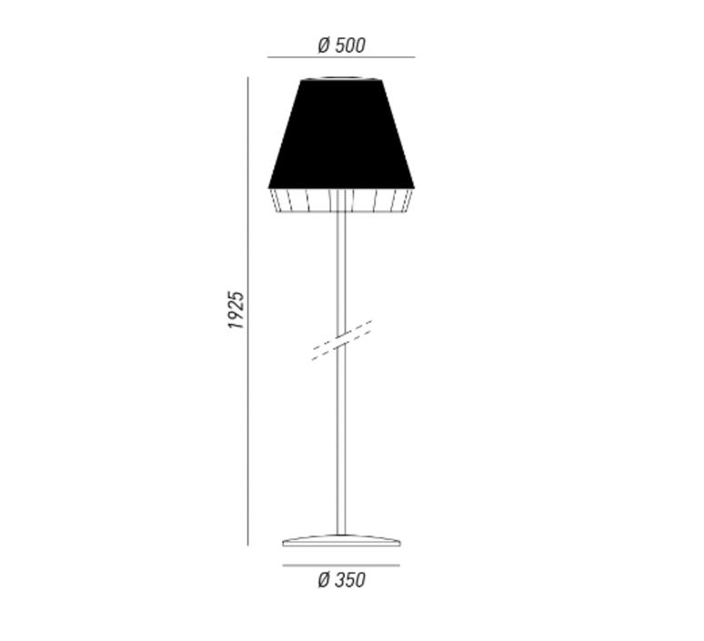 Dress brian rasmussen lampadaire d exterieur outdoor floor light  torremato d1c1  design signed 52208 product