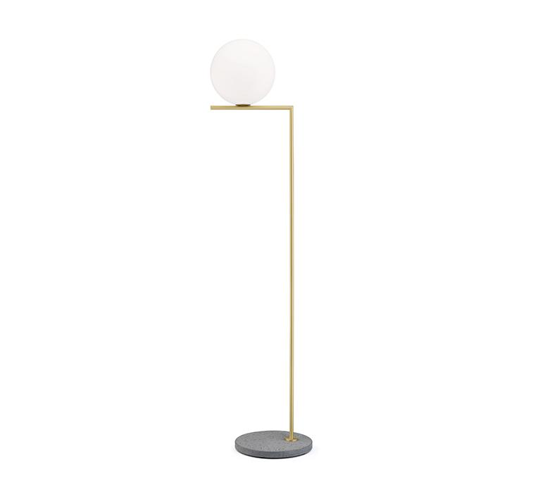 Ic lights floor 2 outdoor michael anastassiades lampadaire d exterieur outdoor floor light  flos f012b03c059  design signed nedgis 97384 product