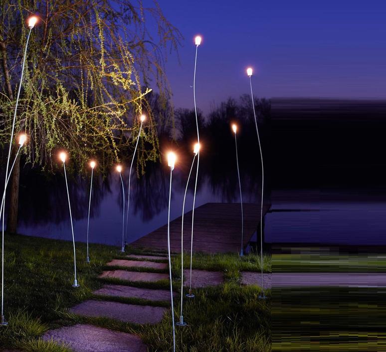 Mini mini franco zavarise zava mini mini h100cm outdoor copper green luminaire lighting design signed 66592 product