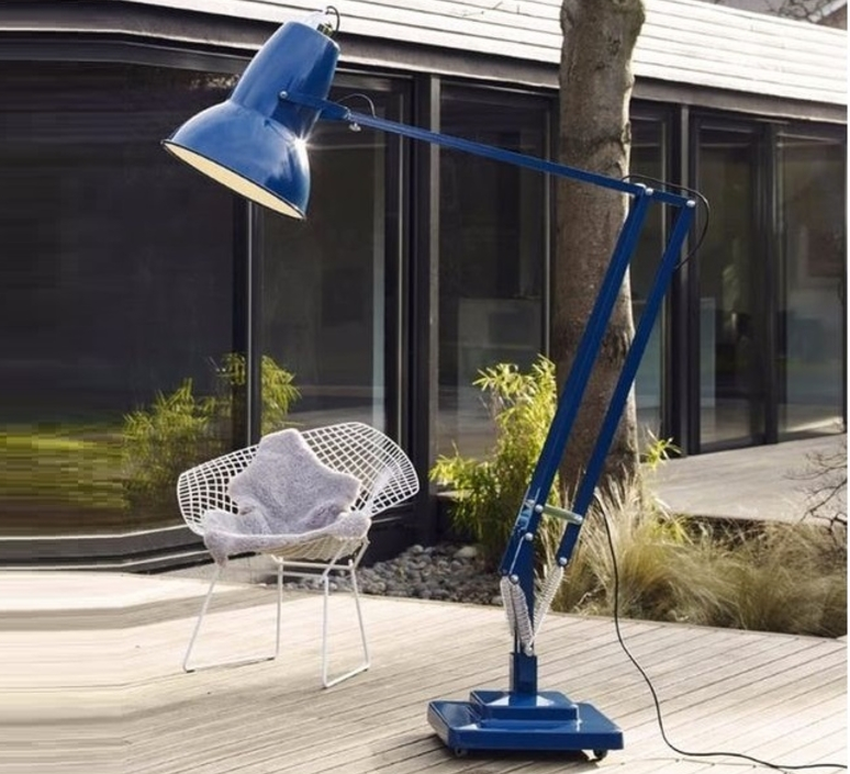 Original 1227 giant  george carwardine lampadaire d exterieur outdoor floor light  anglepoise 31915  design signed 33029 product