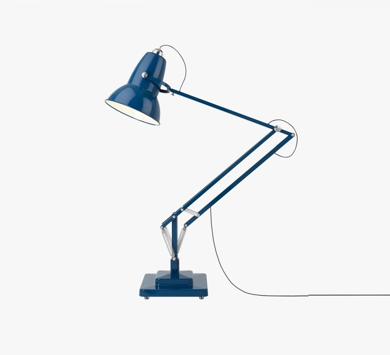 Lampadaire d 39 ext rieur original 1227 giant bleu h230cm for Eclairage exterieur original