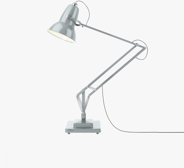 lampadaire d 39 ext rieur original 1227 giant gris brillant h230cm anglepoise luminaires nedgis. Black Bedroom Furniture Sets. Home Design Ideas
