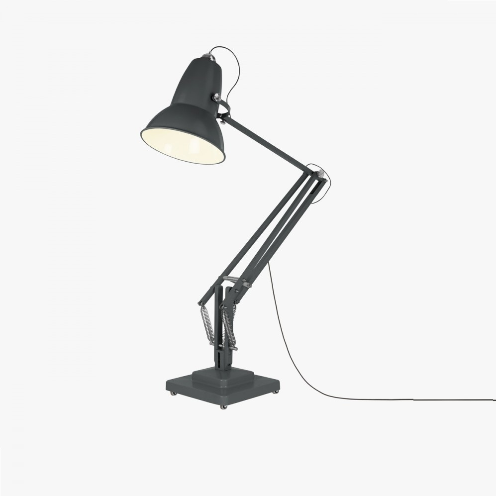 Lampadaire d 39 ext rieur original 1227 giant gris satin - Luminaire industriel la giant collection par anglepoise ...