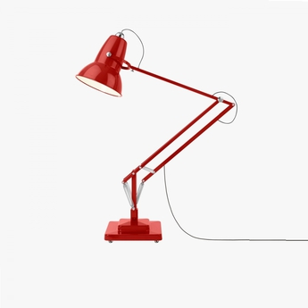 Lampadaire d exterieur original 1227 giant rouge h230cm anglepoise normal