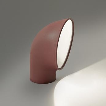 Lampadaire d exterieur piroscafo rust rouille ip65 led 3000k 1143lm l19 8cm h27 5cm artemide normal