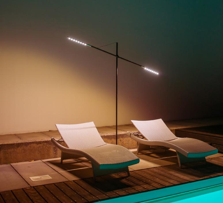 Prix des lampadaire jardin 3 for Candelabre exterieur design