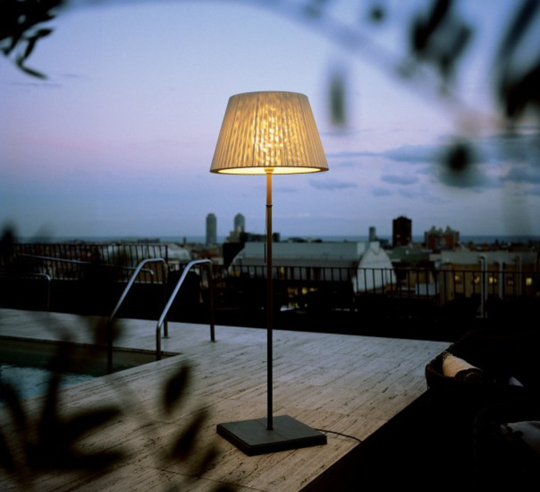Txl 205 joan gaspar lampadaire d exterieur outdoor floor light  marset 16005 001  design signed 33453 product