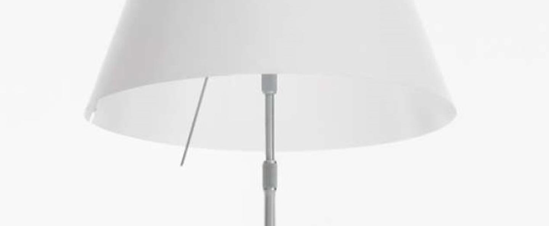Lampadaire d13gti blanc o70cm h175cm luceplan normal