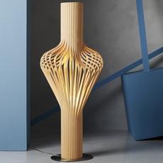 Diva peter natedal et thomas kalvatn egset lampadaire floor light  norhtern lighting 370 390 oak  design signed 45426 thumb