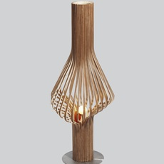 Diva peter natedal et thomas kalvatn egset lampadaire floor light  norhtern lighting 371 390 walnut  design signed 45430 thumb