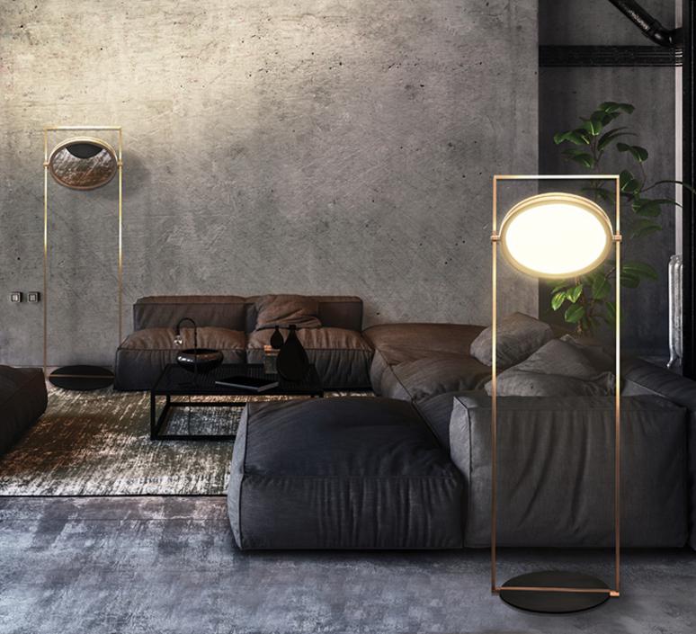 Dorian marcello colli lampadaire floor light  contardi acam 002106   design signed nedgis 87299 product