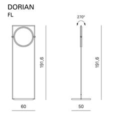Dorian marcello colli lampadaire floor light  contardi acam 002106   design signed nedgis 87302 thumb