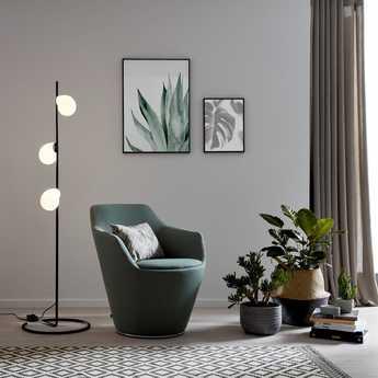 Lampadaire dro floor 1 0 comp noir et blanc o41 5cm h150 5cm wever ducre normal