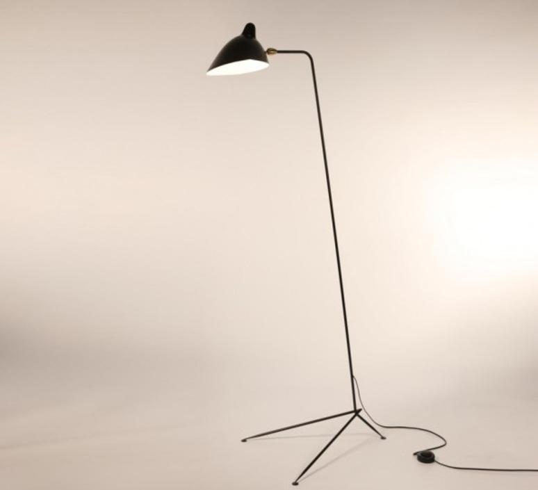 Droit  serge mouille editionssergemouille ld noir luminaire lighting design signed 20761 product