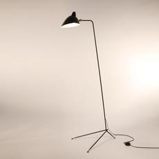 Droit  serge mouille editionssergemouille ld noir luminaire lighting design signed 20761 thumb