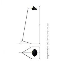 Droit  serge mouille editionssergemouille ld noir luminaire lighting design signed 20762 thumb