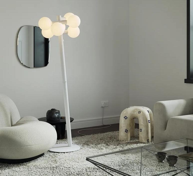 Echo floor lamp david weeks lampadaire floor light  tala dws echo fl 01 eu  design signed nedgis 124555 product