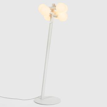 Lampadaire echo floor lamp blanc o47cm h150cm tala normal